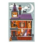 [울스터위버스] 할로윈(Spooky House) 면 티타올(UK)