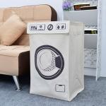 [무료배송]북유럽 패브릭 세탁바구니 드럼세탁기