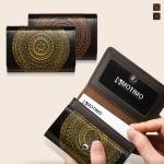 [남성카드.명함지갑]보노(만다라)수제가죽 명함지갑