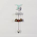 엔틱메탈 큐빅 부엉이 연인  2벨 문종 도어벨-은도금