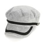 [디꾸보]라인 배색 버튼 헌팅캡 모자 AC661