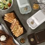 라쿠진 에센셜 와플 & 샌드위치 메이커 3colors