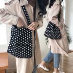 땡땡잉 여성 에코백 데일리 캔버스백 숄더백 천가방
