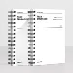 [오리지널] 태스크 매니저 HALF YEAR - 화이트 (2권) 모트모트