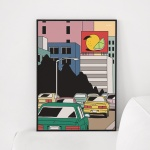 올드스타일 메탈 액자/ 포스터 액자 (A3,A2,A1)