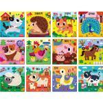 6~12조각 판퍼즐 - 아기지능방 농장동물 (12종)