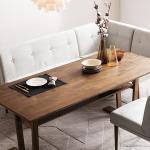 [푹쉼] 두리 원목 4인 다이닝 테이블 식탁