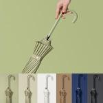 파스텔 컬러 장우산 예쁜 패션 튼튼한 우산 남녀 공용
