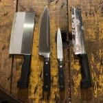 칼 식칼 부엌 주방칼 중식도 아채칼 모음