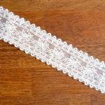 프렌치 레이스 끈(1YD) - 스트랩 부자재 모자재료