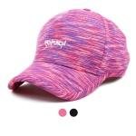 멀티 컬러 프린팅 레터 볼캡 모자 ET708