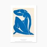 Blue Nude II - 앙리 마티스 004