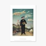 명화 포스터 갤러리 액자 Henri Rousseau 034 Myself Portrait Landscape