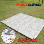 노마드 캠핑매트200x240-디자인 피크닉돗자리