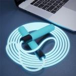 LED 다이어트 야간 줄넘기 야광 틱톡 뱃살 허벅지살빼기