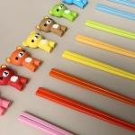유아 아동 성인 연습용 교정용 곰돌이 실리콘 젓가락