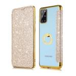 갤럭시노트10/플러스/글리터 카드지갑 투명 링 케이스