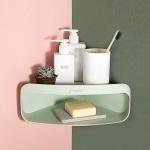 쉐입이 이쁜 북유럽풍 욕실코너선반 3color