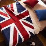 유니온잭 극세사 영국 국기 담요 블랭킷 특대형