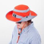 아웃도어 베이직 등산 모자(오렌지) (남성용)