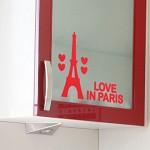 에펠타워_미니(완제품A) 그래픽스티커 포인트 시트지 인테리어 스티커