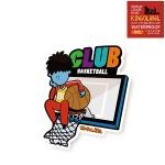 보 농구클럽 - 캐리어/노트북 스티커