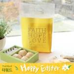 부활절 떡 비닐백 (20개)_Faith(옐로우)