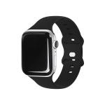 애플워치 소프트 실리콘 밴드 블랙