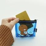 핑크풋 브라더 투명 동전지갑