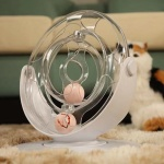 바우미우펫 360도회전 스탠딩 고양이 장난감공