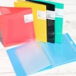 포켓과 지퍼백이 포함되어 아주 유용한 청운그린화일 A5 Glossy  5포켓+지퍼백화일 HB205