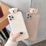 아이폰11 PRO SE2 X  입체 곰돌이 커플 휴대폰 케이스