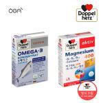 [정식수입] 도펠헤르츠 마그네슘 1박스+오메가3 1박스