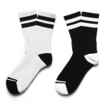 [2PACK] 1507 스케이트삭스 STRIPE ATHLETIC SOCKS