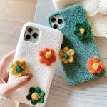 패브릭 꽃송이케이스(아이폰11프로맥스)