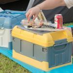 캠핑 테이블 다용도 수납 폴딩 박스 트렁크 정리함