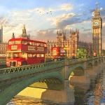 1000조각 직소퍼즐▶ 런던버스 (CA1128A)