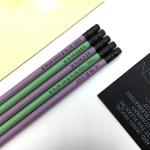 나미브 원목연필 5본입 세트(Baby Purple+Avocado)