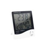 디지털 온도계 습도계 / 사각 온습도계 시계 LCTB403