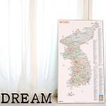 지구별 여행스케치  한국지도 - 인포메이션