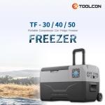 툴콘 이동식 아이스 냉장고 냉동고 TF-30 30L