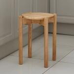 에코DIY 원목 원형스툴 인테리어 의자