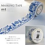 폭30mm-북유럽 감성 일러스트 Bengt&Lotta 작품-일본 mt 디자인 마스킹테이프-아담과이브 hd307-Belo01