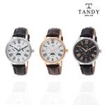 탠디 TANDY 문페이즈 썬앤문 가죽시계 T-1511