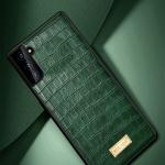 갤럭시s21/울트라/S21+ 악어 컬러 가죽/실리콘 케이스
