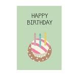 카드-Birthday Cupcake