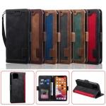 아이폰 xr xs max se2 8 7 투톤 가죽 카드지갑 케이스