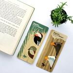 마그네틱 북마크볼펜 SAVE OUR BIRDS 8개세트