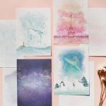 My story letter(마이스토리 편지지 세트)