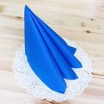 파티용 칼라 냅킨-블루(20매)